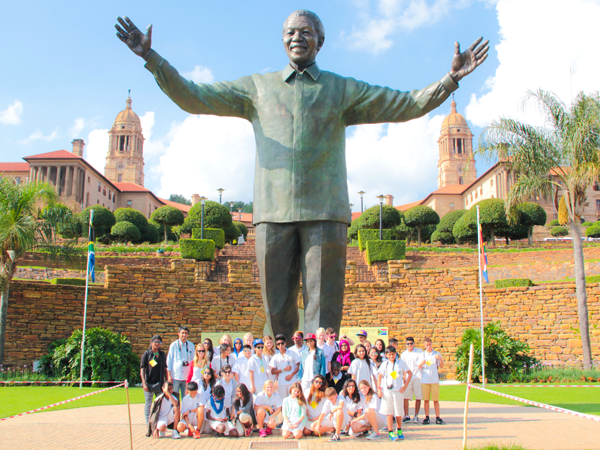 MYP On their trip to South Africa